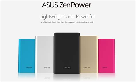 Power Bank Asus Di Malaysia original asus zenpower 10050mah powerbank 11street