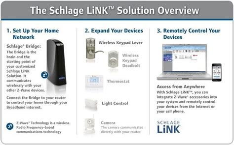 nexia schlage link connected home wireless home monitoring
