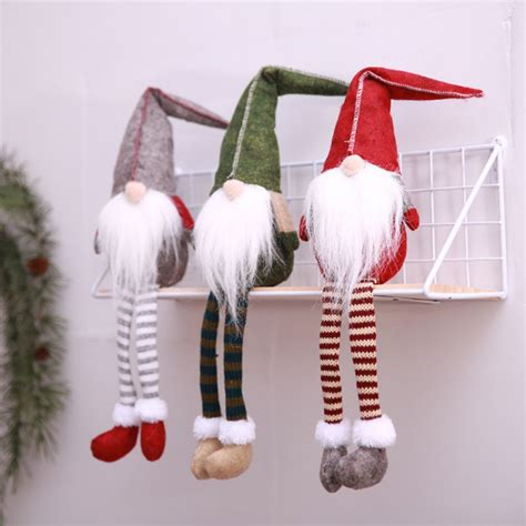 handmade christmas gnome decoration holiday gifts swedish