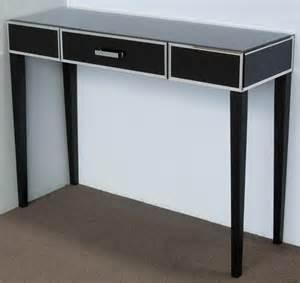Black Hallway Table Black Table Freestyle Mirrors