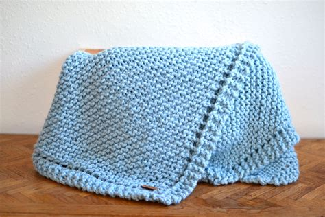 knit throw blanket baby blanket chunky knit blanket knitted baby