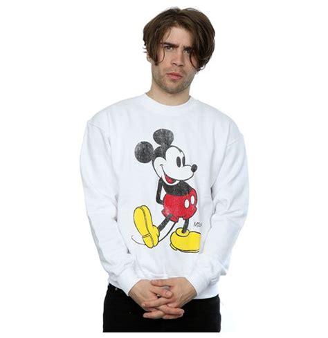 Sweatshirt Micky Mouse Comic disney s mickey mouse classic kick sweatshirt white