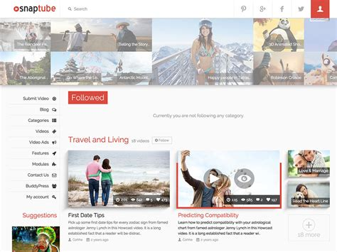 best wordpress themes video blog 27 best video wordpress themes 2018 athemes