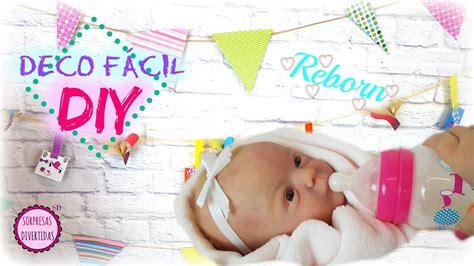 manualidades para habitacion de bebe diy decoraciones para habitaci 243 n de mi beb 233 reborn