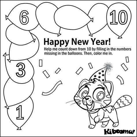 new year number activities color by number worksheets for kindergarten az coloring