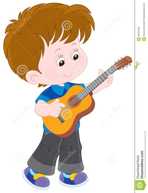 girl playing guitar clip art cartoon guitar player clipart www imgkid com the image