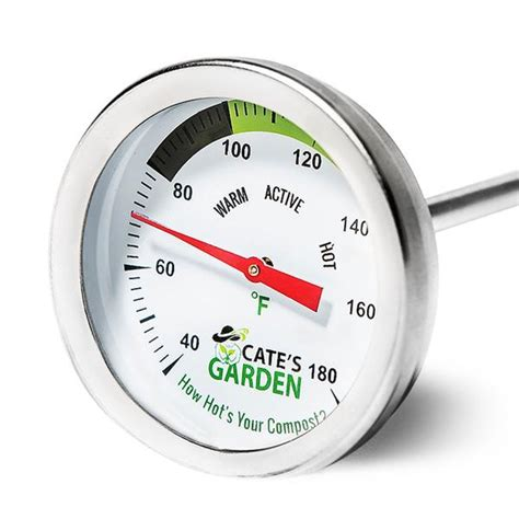 Kompos Termometer compost thermometer cate s garden