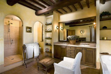 the bathroom in italian villa cetona siena italy traditional bathroom