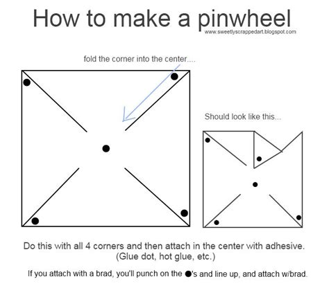 How To Make A Pinwheel With Paper - 88 best pinwheel crafts images on paper