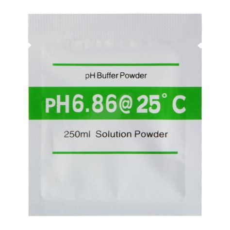 Istimewa Ph Buffer Powder Solution Ph 7 00 20pcs 4 00 6 86 ph buffer powder for ph meter measure calibration solution bi672 ebay