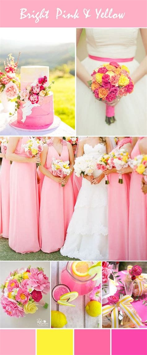 hot pink themes hot pink and gold wedding theme www imgkid com the