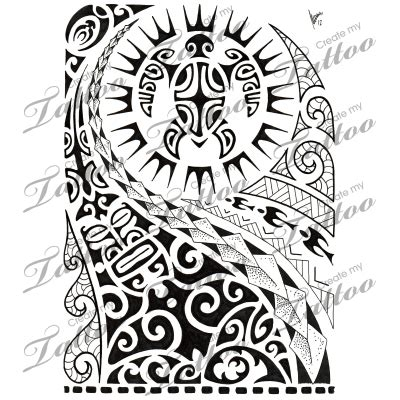 tattoo design marketplace marketplace tattoo polynesian half sleeve 02 8516