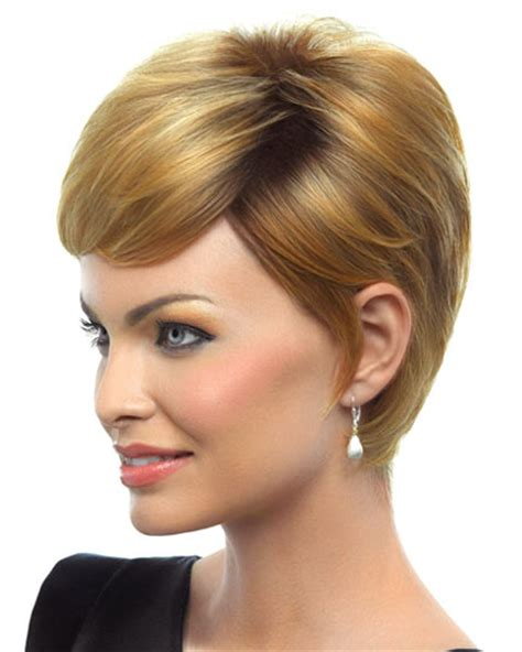 feathered sides on a haircut feathered cut wig by hairdo short hairstyle 2013