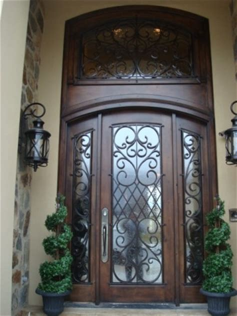 Tuscan Front Doors Tuscan Front Door Wrought Iron