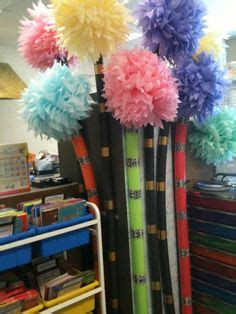 How To Make Truffula Trees Out Of Tissue Paper - dr seuss classroom on dr seuss truffula