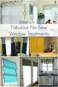 How To Make A No Sew Roman Shade - no sew window treatments newton custom interiors