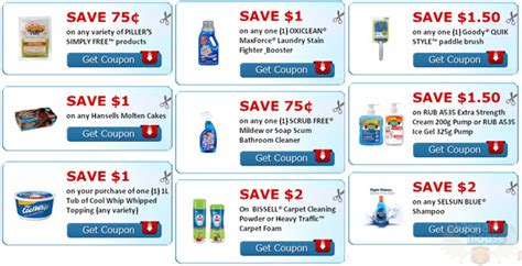 free online printable grocery coupons canada some canadian coupons from smartsource ca printable