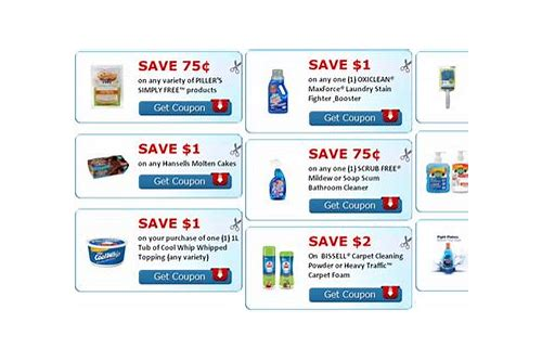 bissell printable coupons canada