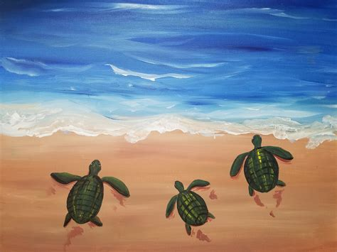 paint nite olympia acrylic paintings of turtles best painting 2018