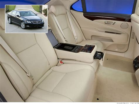Lexus Ls 460 Reclining Back Seat by Cars Best Back Seats Lexus Ls 460 L 10 Cnnmoney
