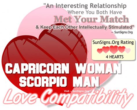 scorpio man in bed capricorn woman compatibility with men from other zodiac