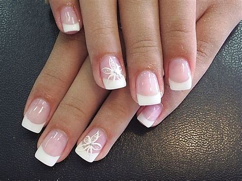 easy nail art french manicure easy diy nail art designs