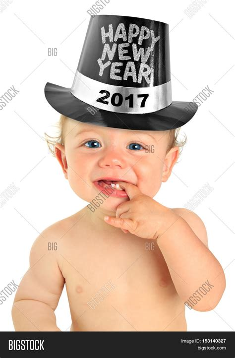 new year in hat yai adorable ten month baby boy image photo bigstock