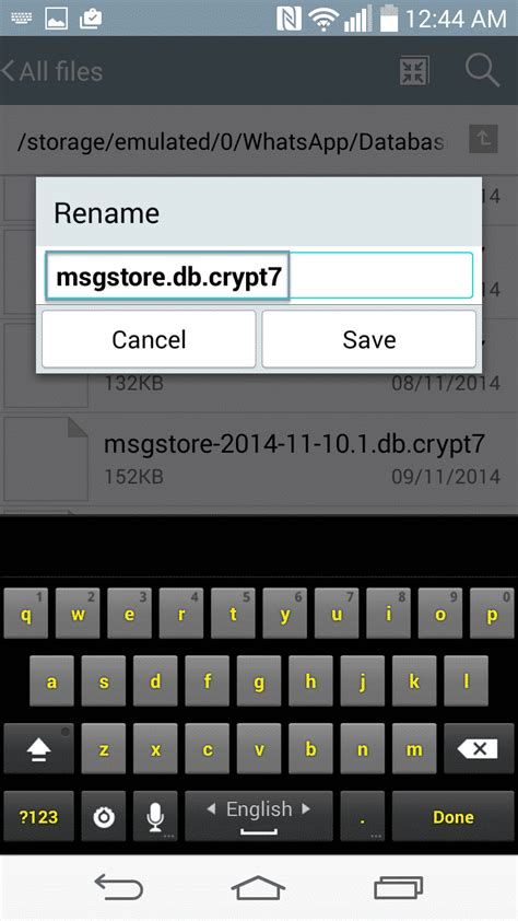 tutorial whatsapp for android tutorial how to restore deleted whatsapp messages on