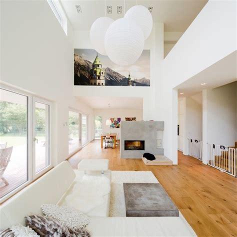 modernes wohnen wohnzimmer wohnzimmer mit kamin ferreira verf 252 rth architektur