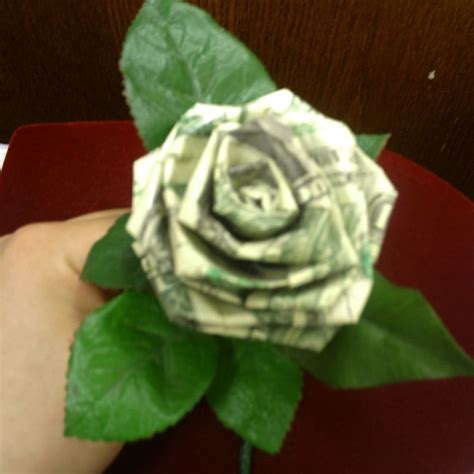 Origami Flowers Made From Money - 25 best ideas about money on money