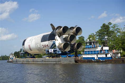 Raket Rs Original transport of saturn v rocket stage to ssc a matter of real history nasa