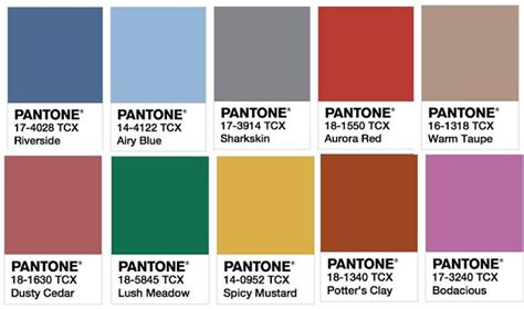 top colors of 2017 cores pantone outono inverno 2016 2017 frs blog