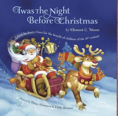 Twas The Night Before Christmas By Clement C Moore Nook Twas The Light Before