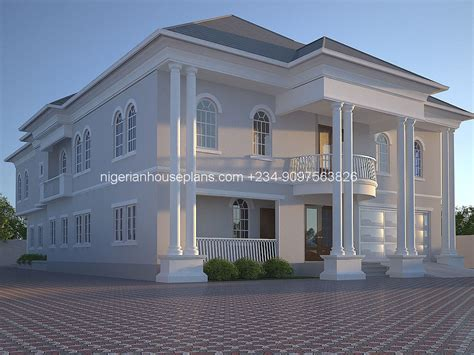 house building designs 5 bedroom duplex building plan in nigeria escortsea