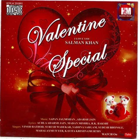 play the valentines song special special songs album