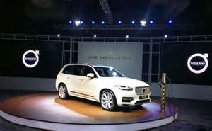Volvo Electric Car Xc90 Volvo Xc90 T8 Excellence In Hybrid Launched In India