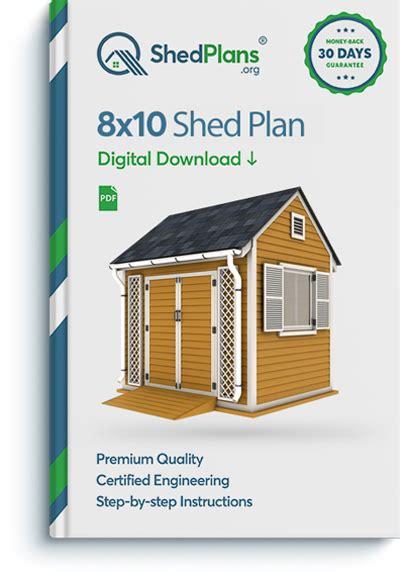 garden shed plan shedplansorg