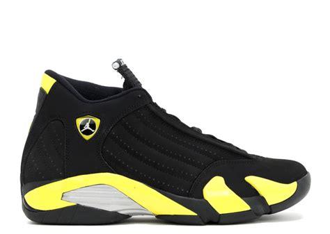 jordan ferrari white air jordan 14 retro quot thunder quot black vibrant yellow white
