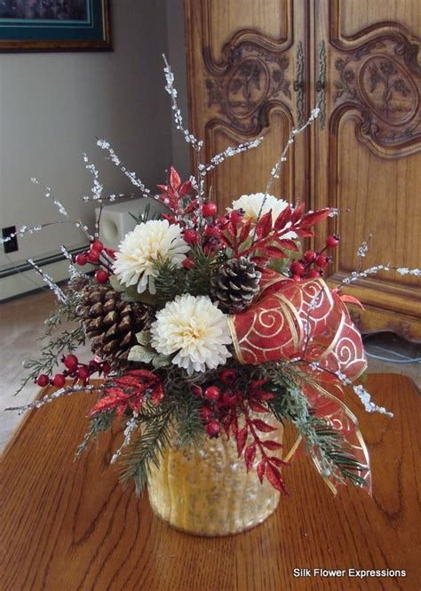 10 best silk flower arrangements images on
