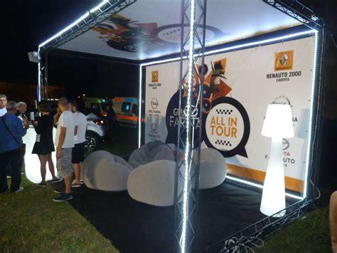 traliccio americano tonight exhibition booth crosswire x15 modular