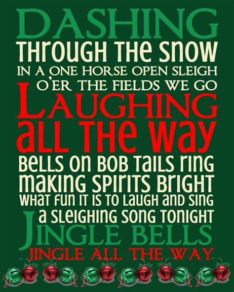 christmas bell quotes and captions jingle bells printable