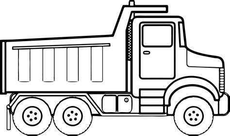 coloring book pages truck any construction truck coloring page wecoloringpage