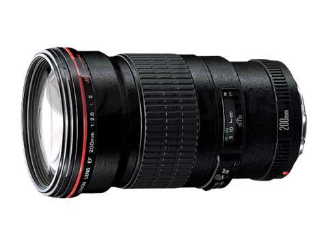 Lensa Canon Ef 200mm F 2 8l Ii Usm canon ef 200mm f 2 8l ii usm lens reviews specification