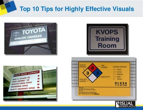 10 effective tips for stand top 10 tips of highly effective visuals