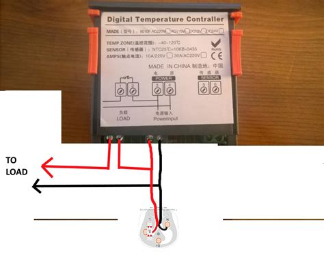 wiring temperature controller to freezer buckeyebride