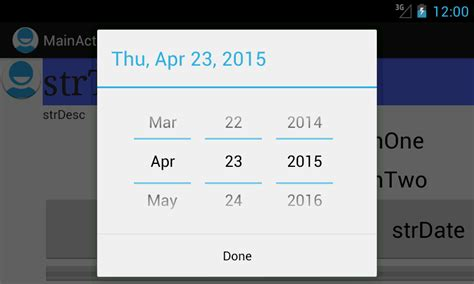 android datepicker using datepicker and timepicker dialog boxes android java in eclipse stack overflow