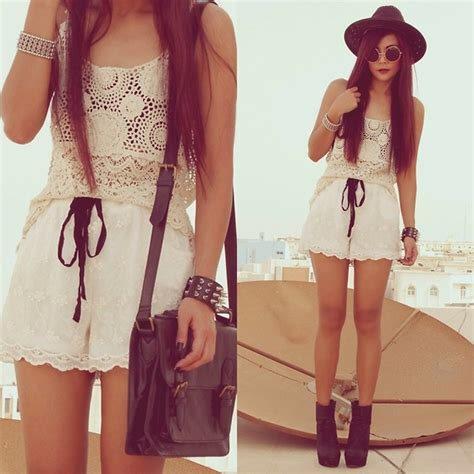 boho lace summer outfit pictures   images
