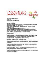 english teaching worksheets kindergarten