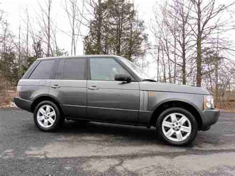 sell used 2005 range rover hse navi logic 7 sound serviced