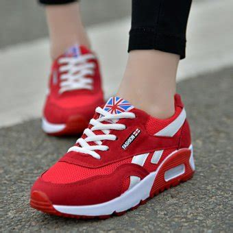 Sepatu Kets Vans Merah Wanita lcfu764 olahraga lari sepatu kets wanita sepatu merah